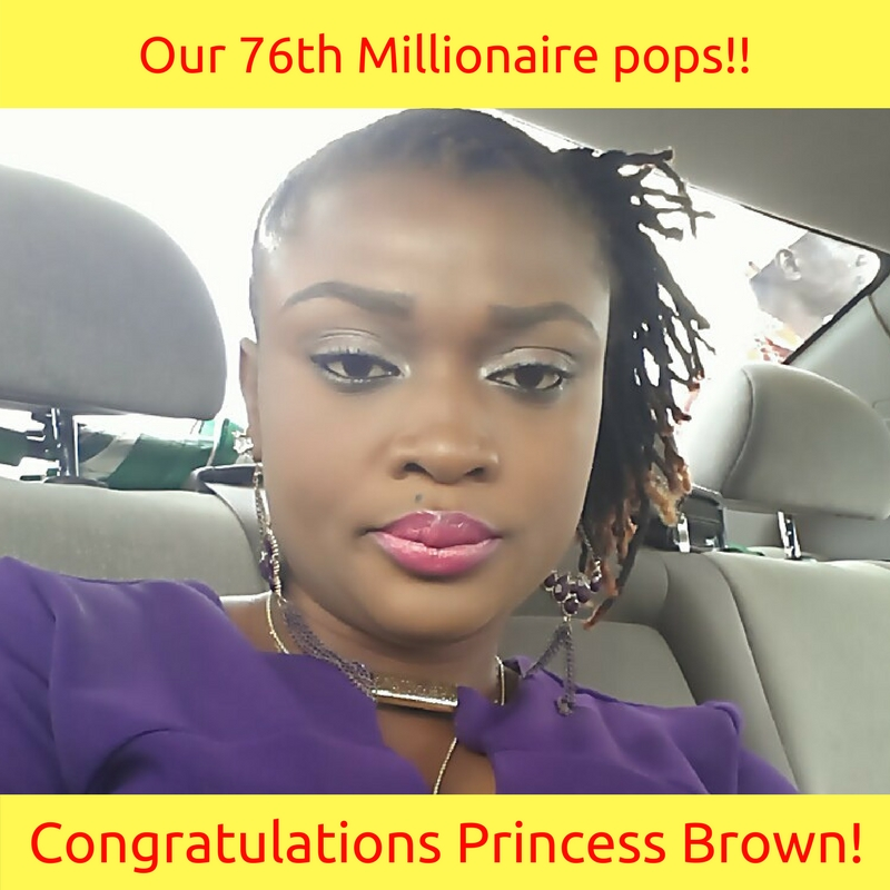 And our 51st Millionaire pops!! (3)